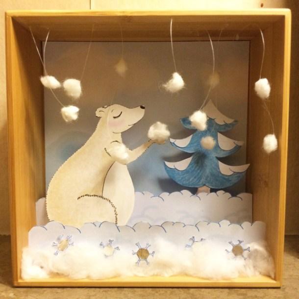 Diorama hiver