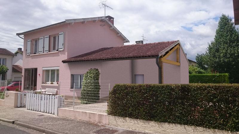 Extension d'un garage - Albi (81)