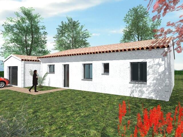 Maison de 89,60m² - Lavernose Lacasse (31)
