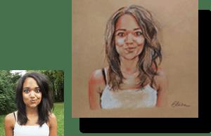 Portraits personnalisés d'apres photos
