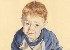 portrait-dessin-d-après-photo-enfant-petit-garçon-1