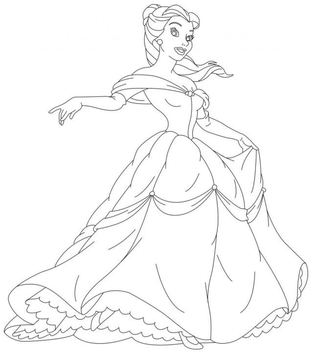 Dessins Gratuits à Colorier - Coloriage Princesse Sofia à imprimer