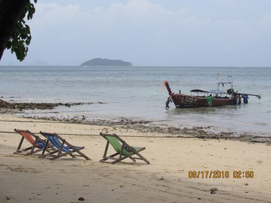 Relaxing at phi phi island 1