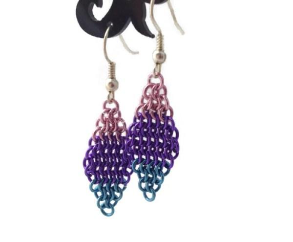 Bi Pride Earrings by Destai