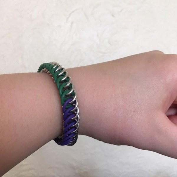 Genderqueer Pride Bracelet by Destai