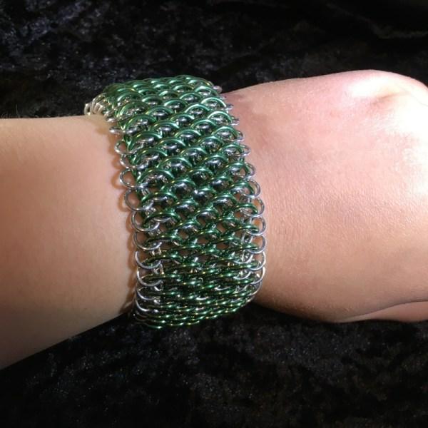 Dragonscale Bracelet Cuff by Destai