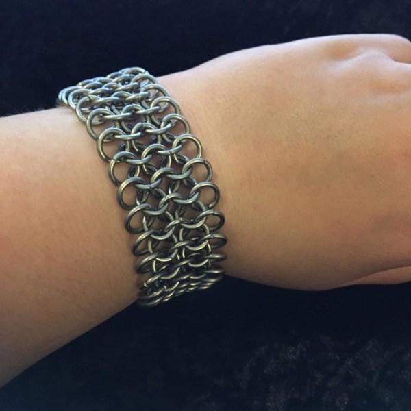 European Chainmaille Bracelet by Destai