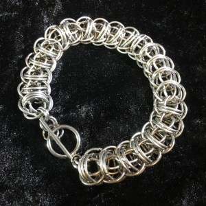 Firewyrm Chainmaille Bracelet by Destai