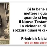 L'odio di Friedrich Nietzsche verso Gesù Cristo