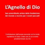 NUOVO LIBRO: «L'Agnello di Dio ben preordinato prima della fondazione del mondo a morire per i nostri peccati!»