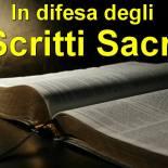 In difesa degli Scritti Sacri