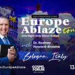 "La chiesa pentecostale ""Gospel Forum"" invita l'impostore Howard Browne"
