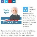 Sulla situazione delle denominazioni negli USA