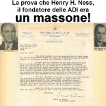 La prova che Henry H. Ness, il fondatore delle Assemblee di Dio in Italia (ADI), era un massone!