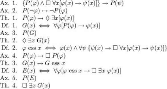 Formula lui Godel