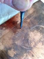 Etching needle