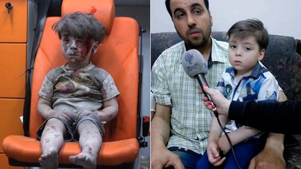 Vader ambulancejongetje Omran: 'Media gebruikten hem voor propaganda-doeleinden'