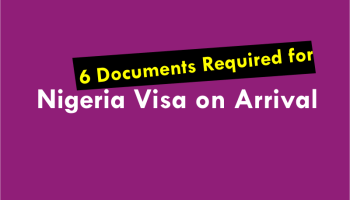 required documents for nigeria visa on arrival
