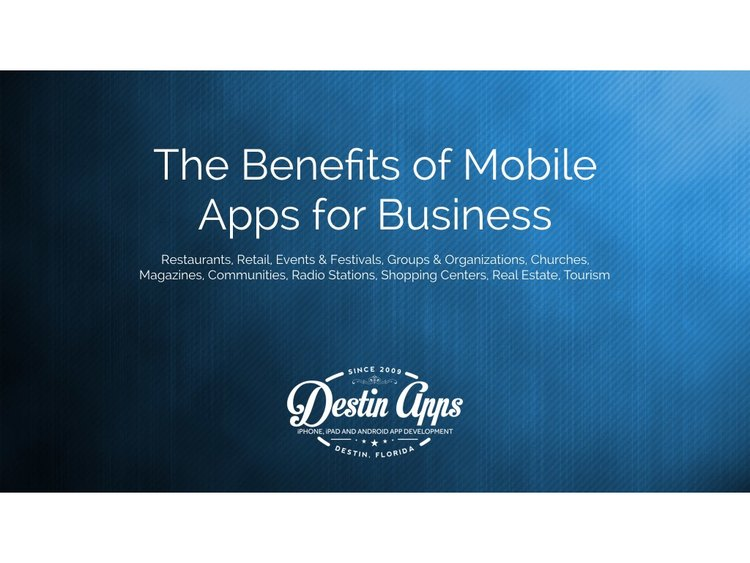 The Benefits of Mobile Apps for Business