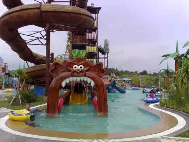 Rekreasi air Fantasy Island