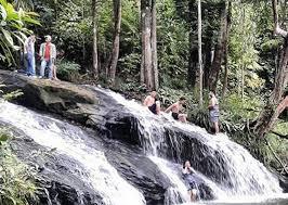Wisata Air terjun di Kalimantan Tengah - Air Terjun Hatowan