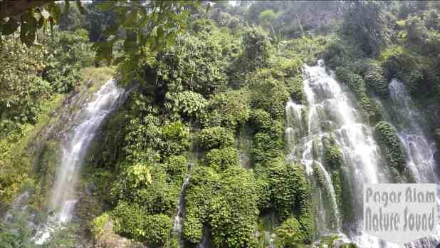 Air terjun curup maung kota Lahat