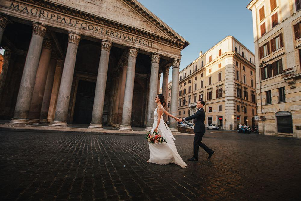 Wedding In Italy Rome Wedding Cinematic Wedding Video By