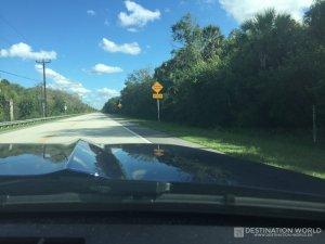 Fahrt durch die Everglades, FL