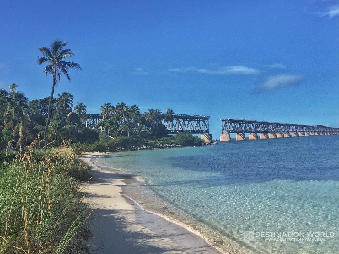 Bahia Honda State Park auf den Florida Keys, Road Tripp
