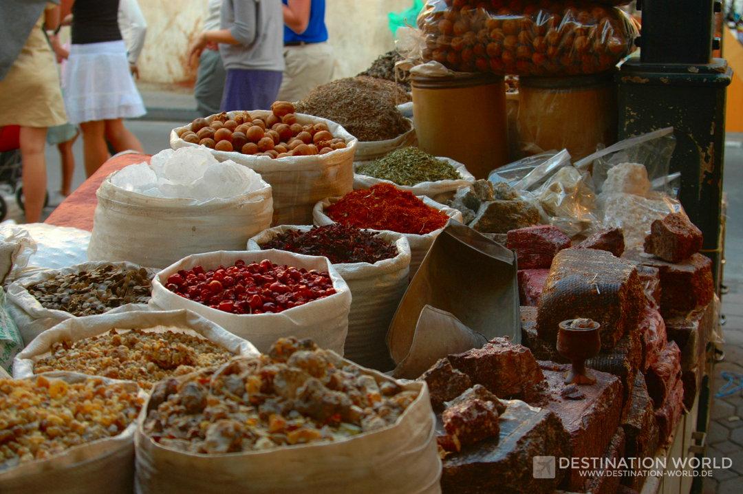 Gewürze im Spice Souk von Dubai