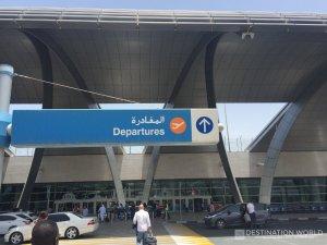 Departure vom Dubai Airport
