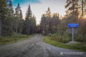 Grenze Norwegen-Schweden, Blick Richtung Norwegen