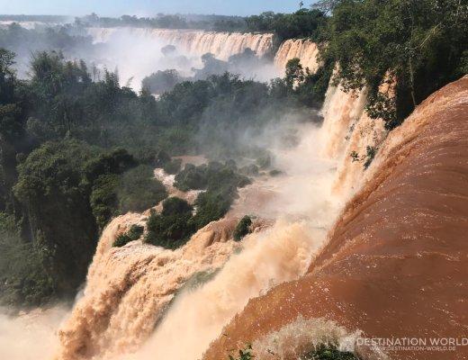 Iguazu Wasserfälle zwischen Brasilien und Argentinien