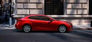 2014 Mazda3 side - - Destination Mazda Vancouver