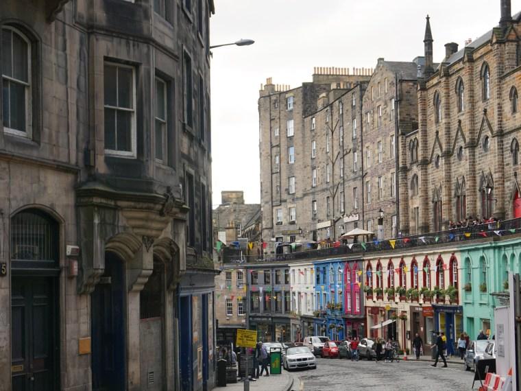 Victoria Street i Edinburgh