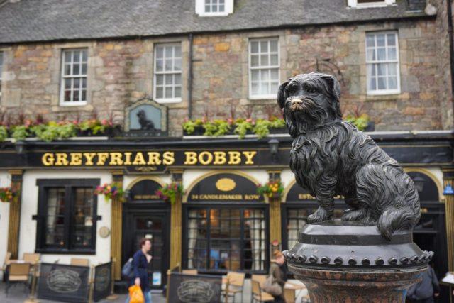 Greyfriars Bobby i Edinburgh