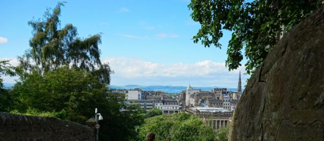 Udsigt over Edinburgh