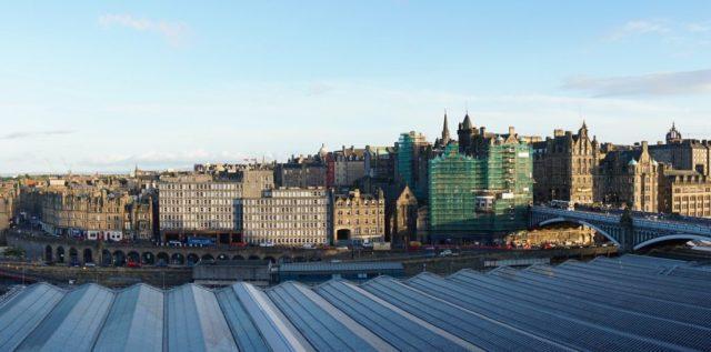 Anmeldelse af Princes Street Suites i Edinburgh