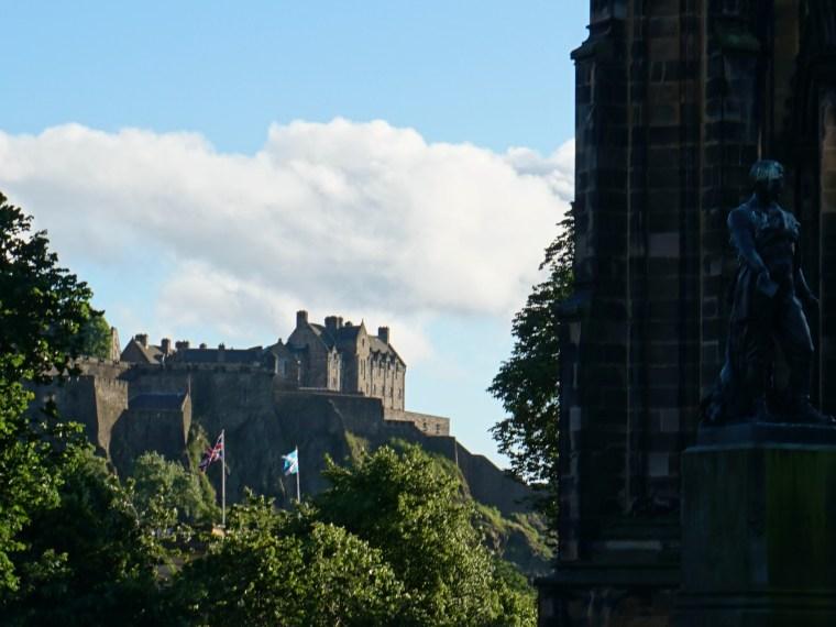 Udsigt til Edinburgh Castle