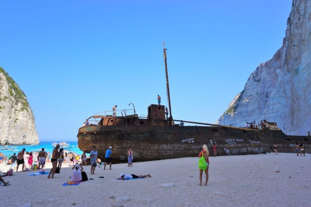 Shipwreck Beach Zakynthos