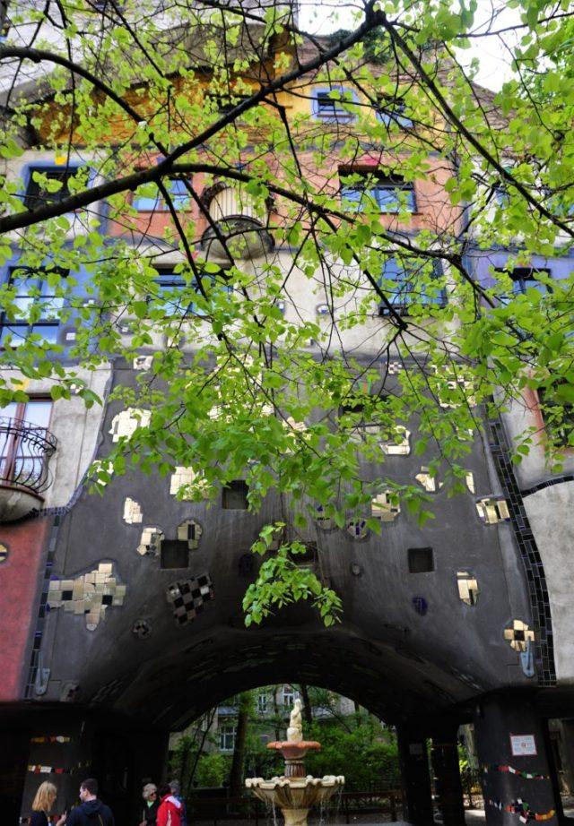 Hundertwasserhaus Wien Vienna