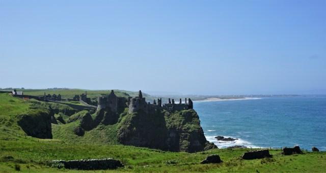 Dunluce Castle Ruin Northern Ireland