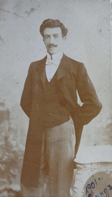 Като студент (1901 г.)