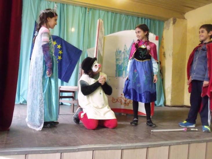 Театър - Замръзналото кралство; Зая 2