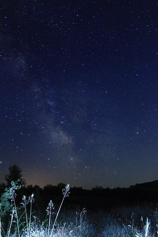 Нощно Дряново - Небе при Панорамата 1