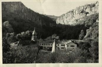 Дряновския манастир в началото на 20 век; Спасимир Пилев