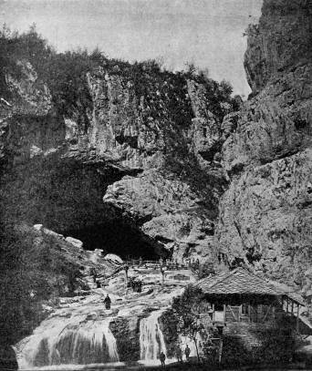 Пещера Андъка през 1897 г., по Х. и К. Шкорпил