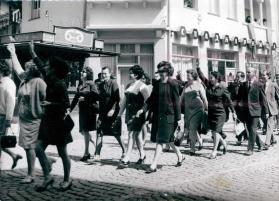 Първомайста манифестация в Дряново, 1975 г.