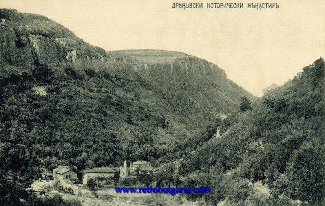 изглед към манастира