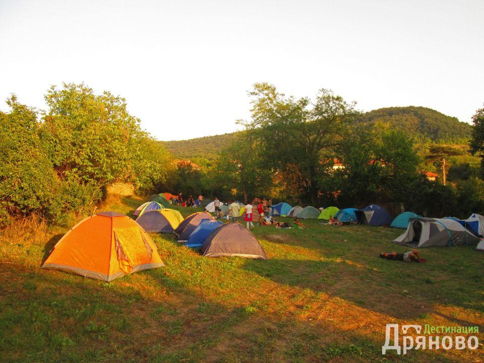 Ганчовец - палатки